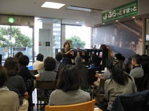 紀伊國屋書店新宿南店でのトーク Kinokuniya Bookstore, Tokyo