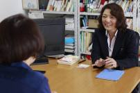 勝間和代さんとの対談 Discussion with A Leading Female Business Person in Japan