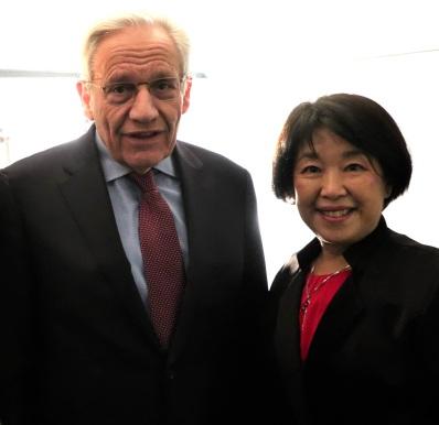Yukari and Bob Woodward (1)